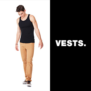 vests-t-shirts-button